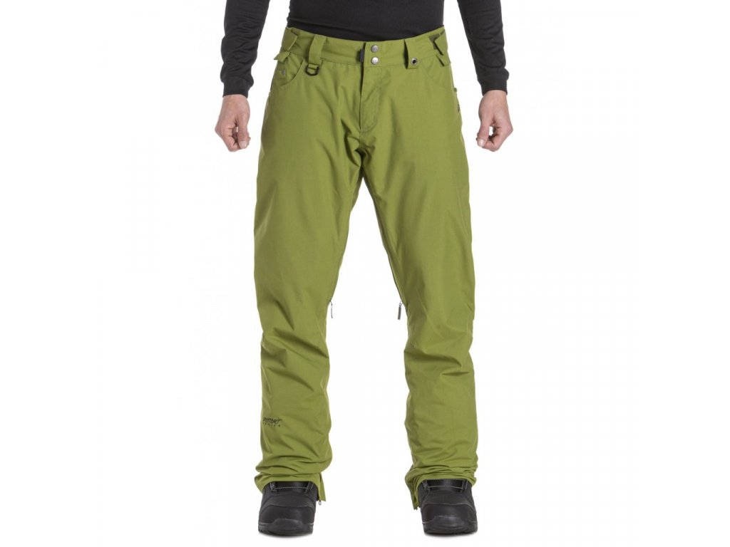 Pánské snowboardové kalhoty Nugget Charge 5 C Green Calla