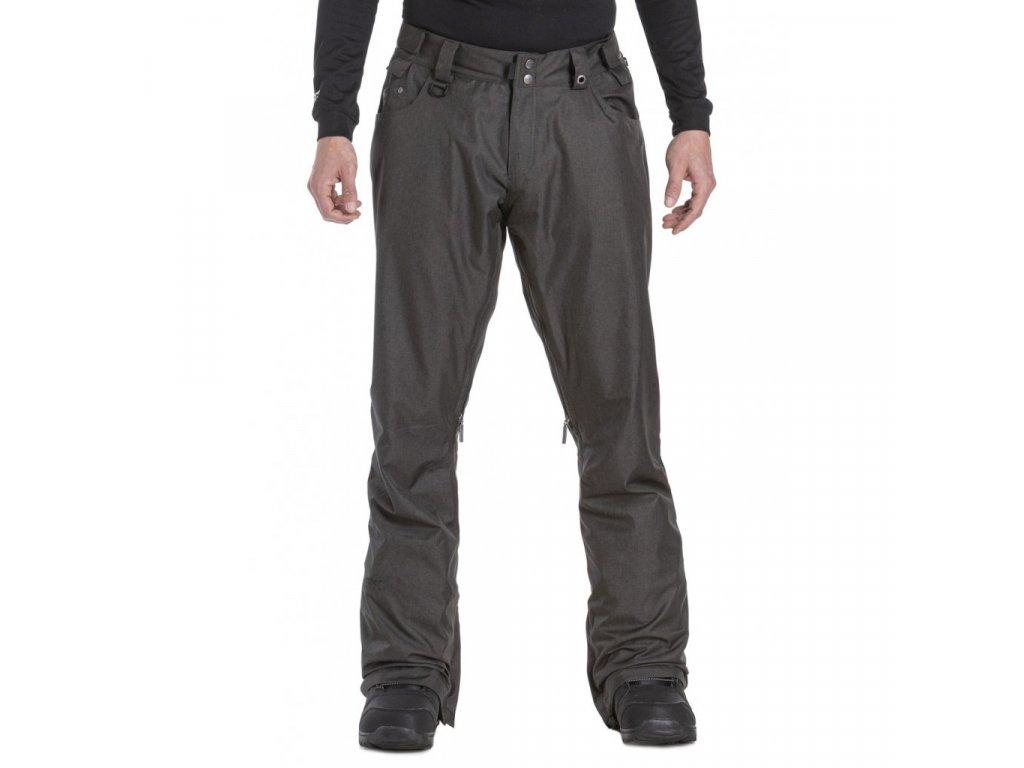 Pánské snowboardové kalhoty Nugget Charge 5 B Gunmetal Heather
