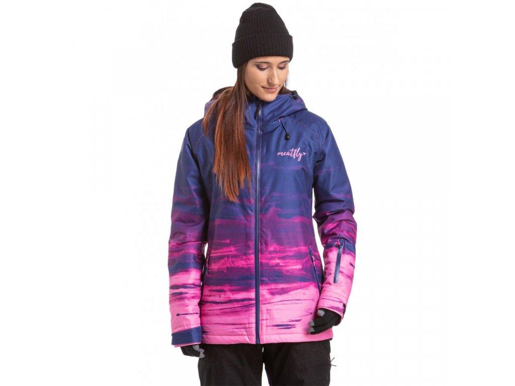 Snowboardová bunda Meatfly Grady A Ambient Blue