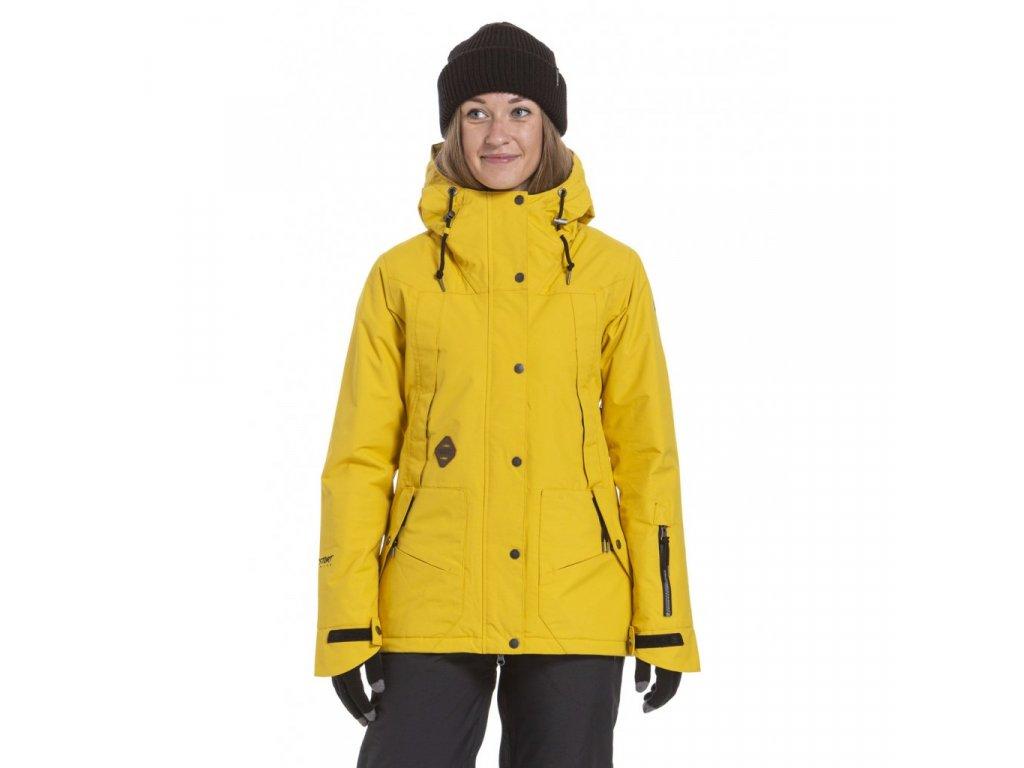 Snowboardová bunda Nugget Anja 5 I Gold
