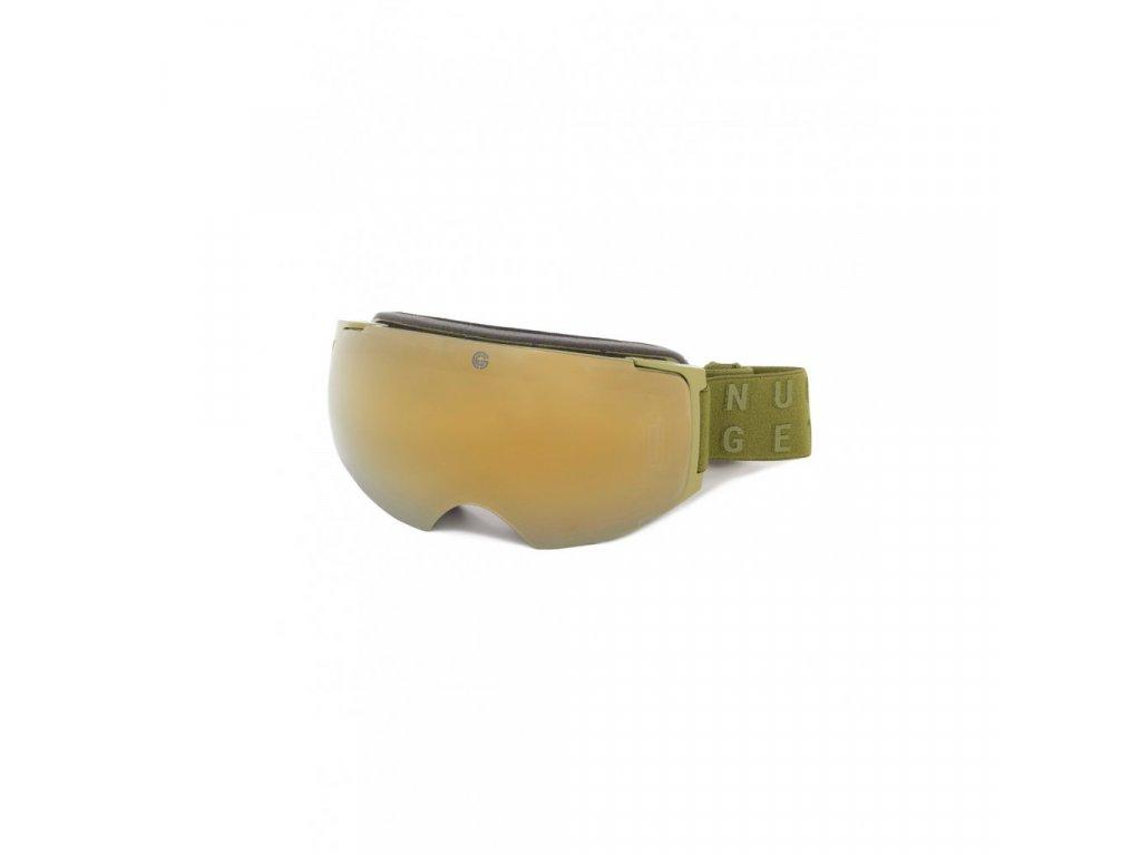Snowboardové brýle Nugget Discharge 4 C Army
