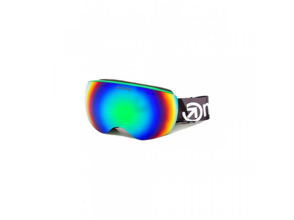 Snowboardové brýle Meatfly Ekko XL 2 D Green