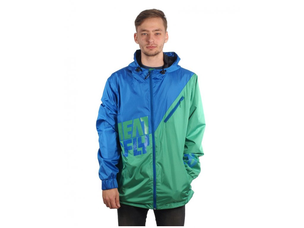 MEATFLY Marcus C-Blue/Green (Velikost L)