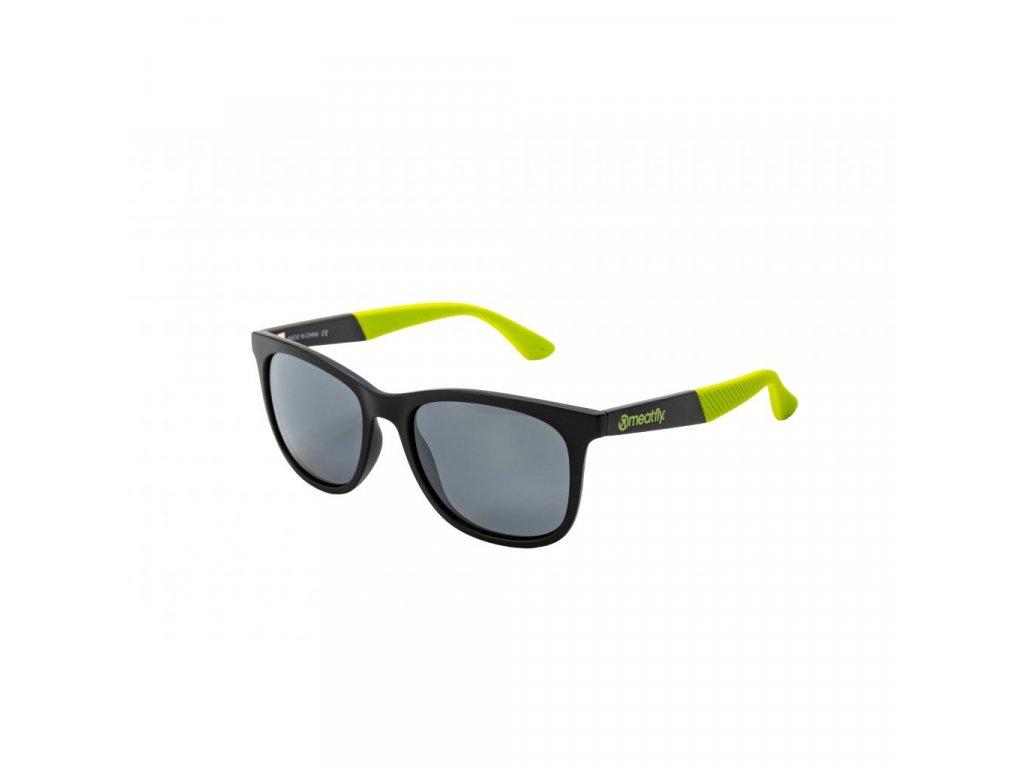 Meatfly Clutch 2 Sunglasses – S20 F Black, Green
