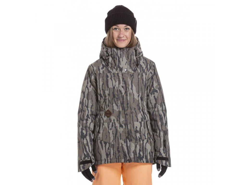 Snowboardová bunda Nugget Anja 5 H Oak Olive