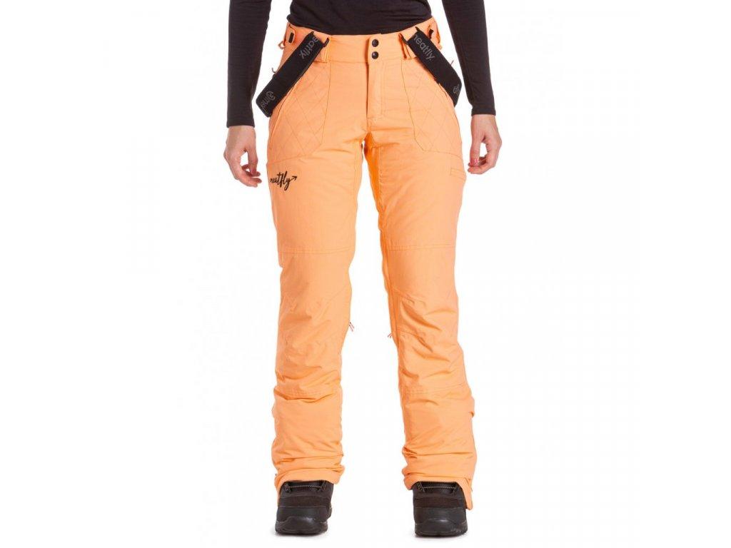 Snowboardové kalhoty Meatfly Foxy C Papaya