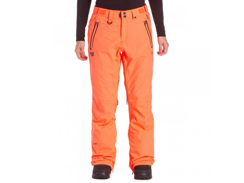 Snowboardové kalhoty Nugget Viva G Acid Orange