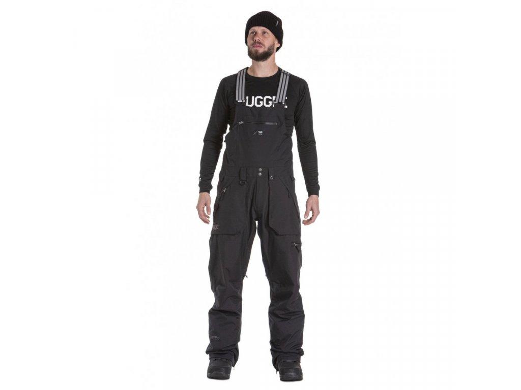 Snowboardové kalhoty Nugget Cangur A Black