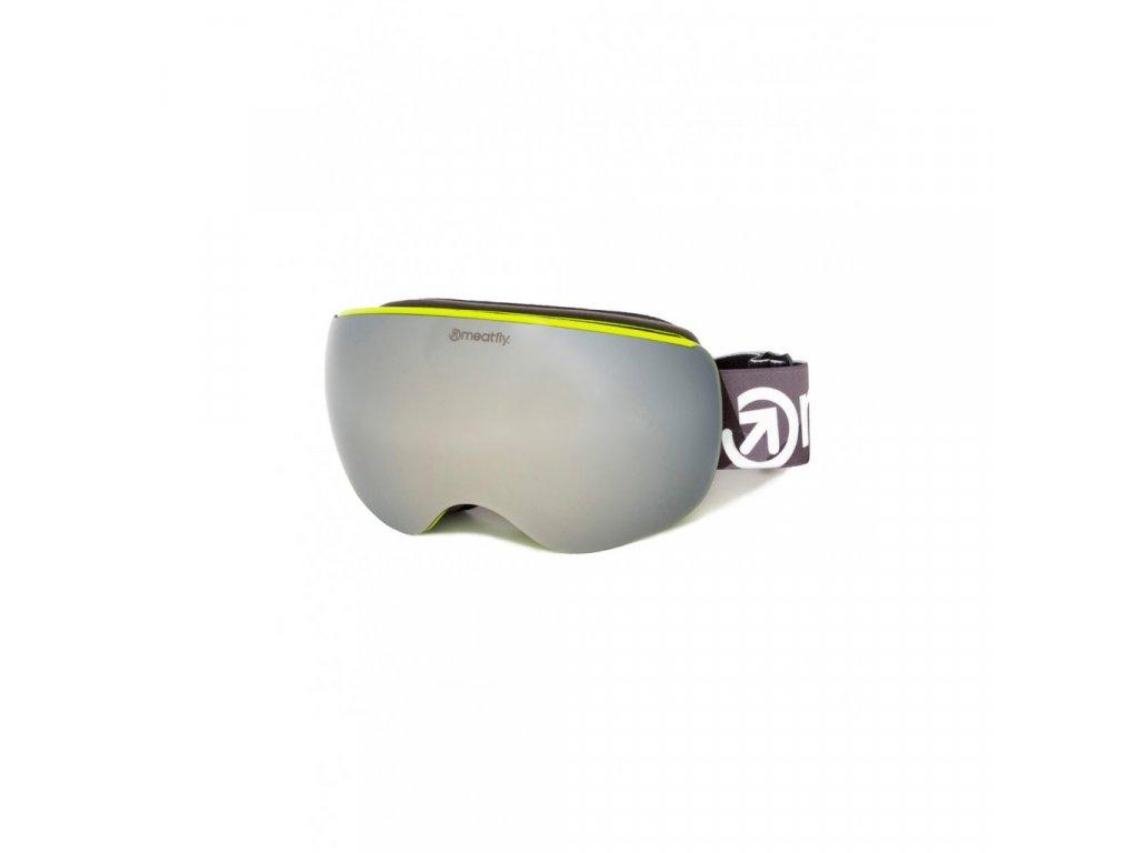Snowboardové brýle Meatfly Ekko XL 2 C Lime
