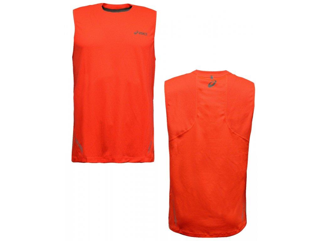 Asics Sprint Sleeveless Orange