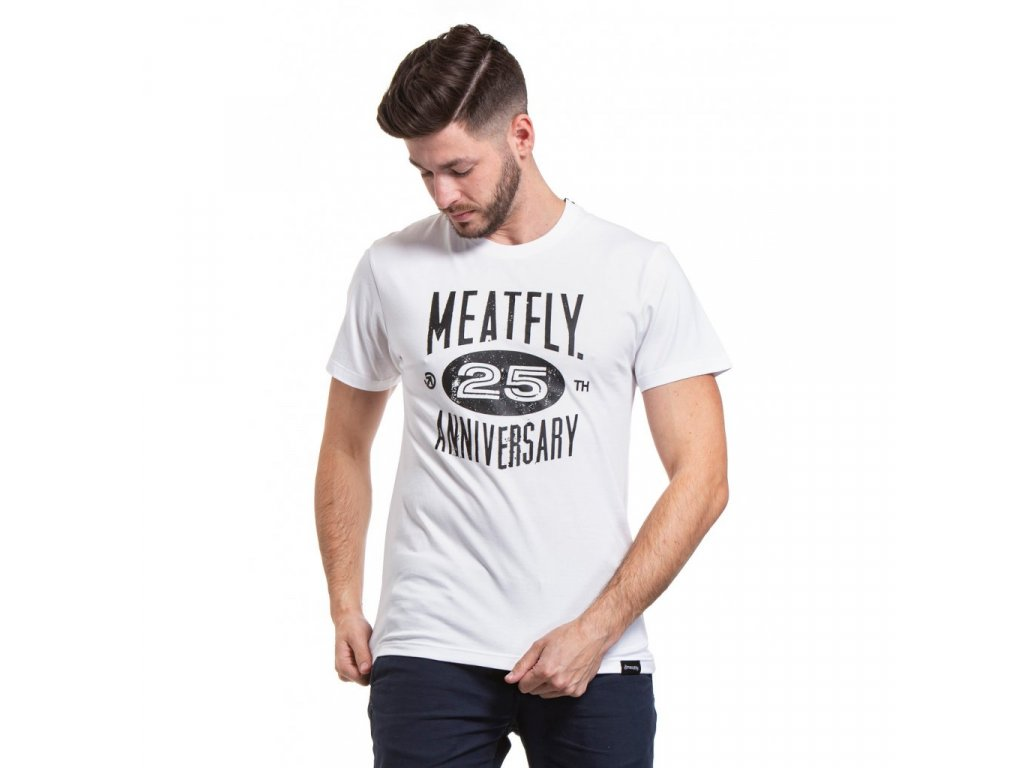 Meatfly 25TH C White