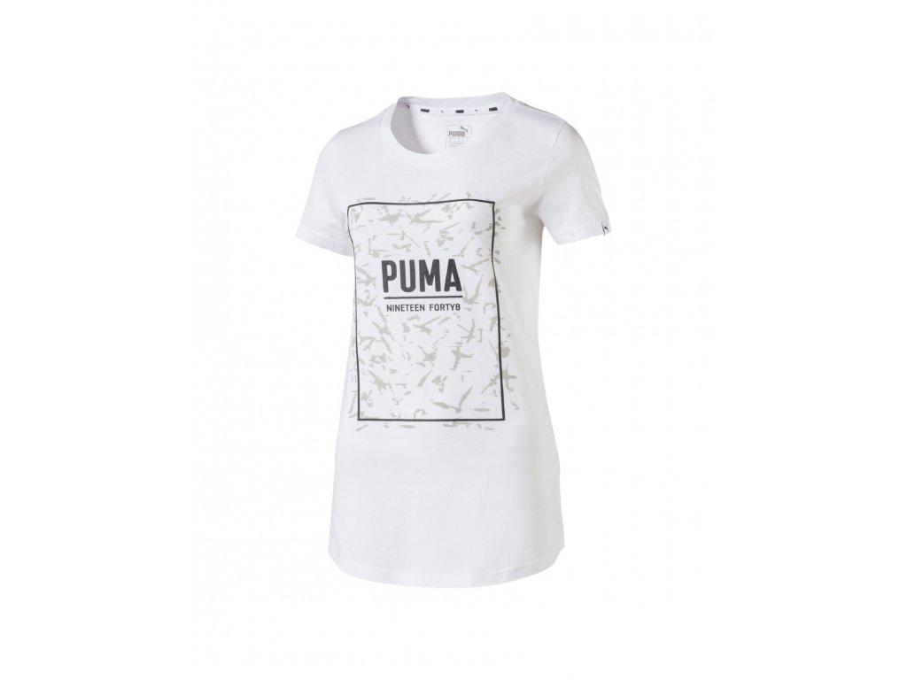 puma fusion graphic puma white