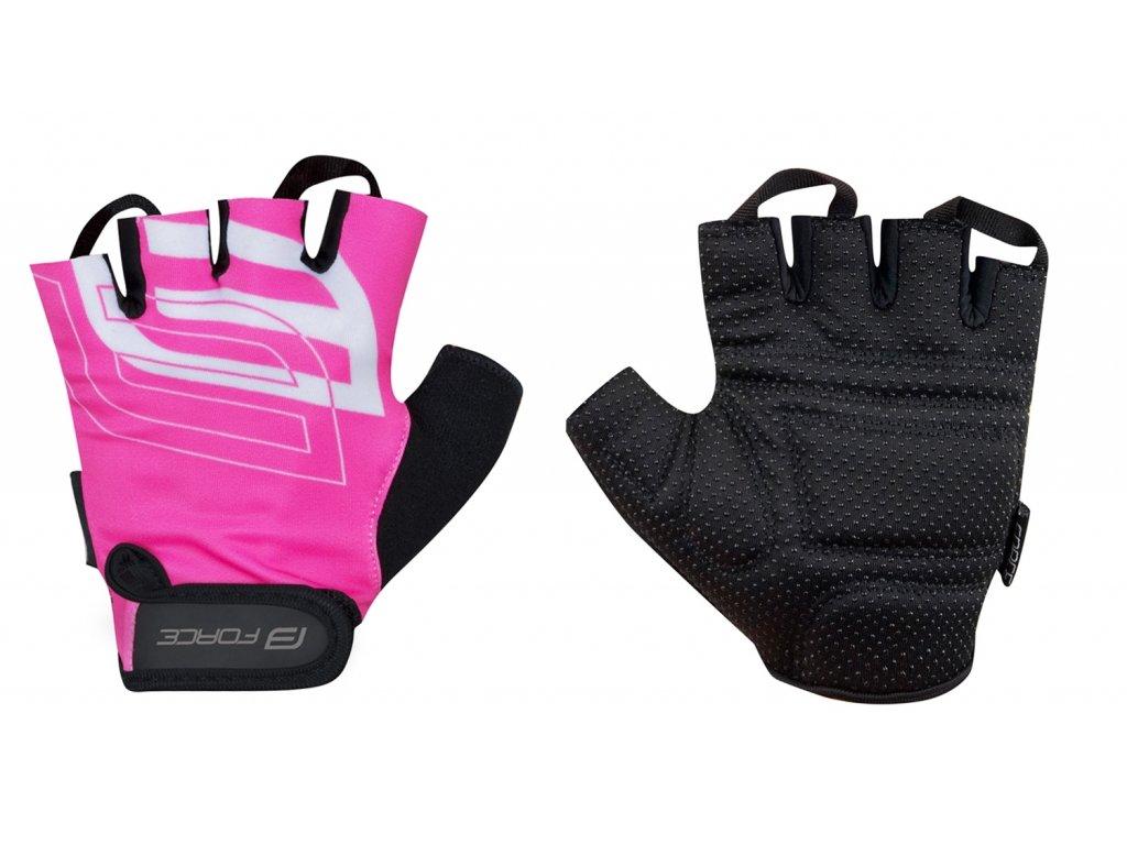 rukavice FORCE SPORT LADY, růžové