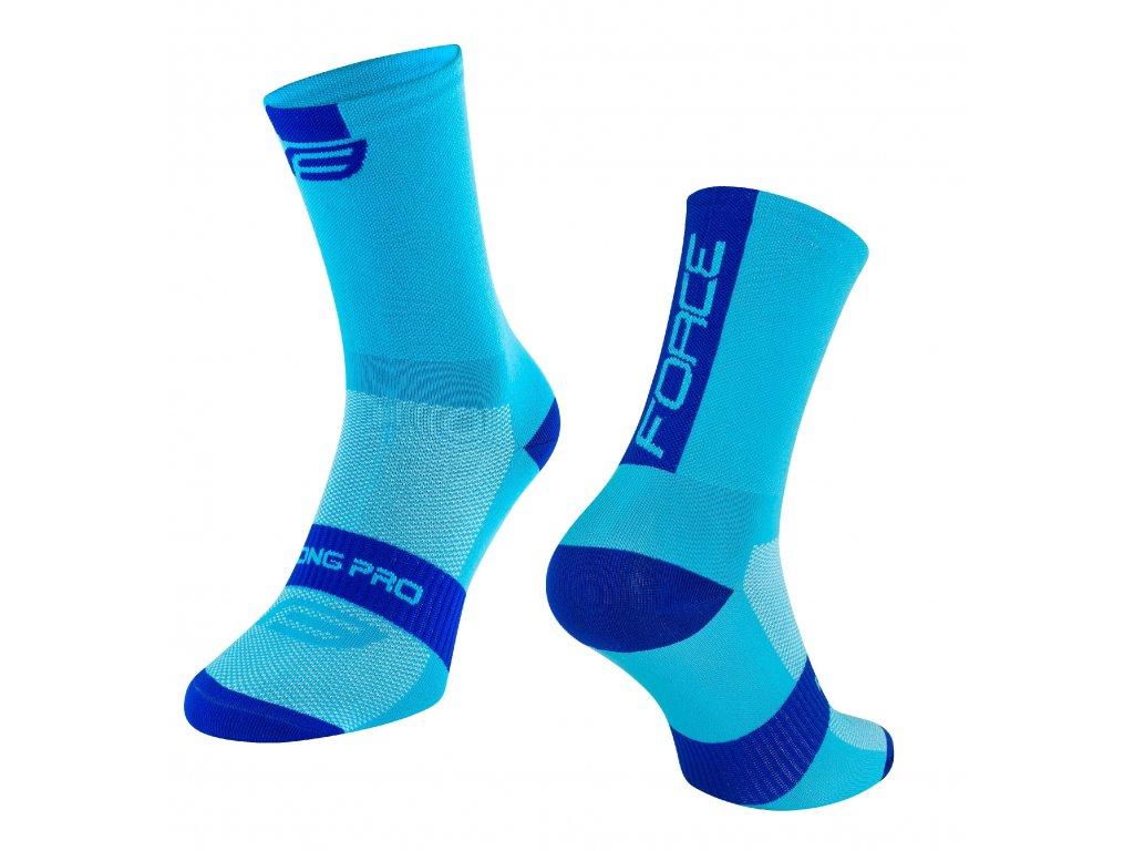 ponožky FORCE LONG PRO, modré