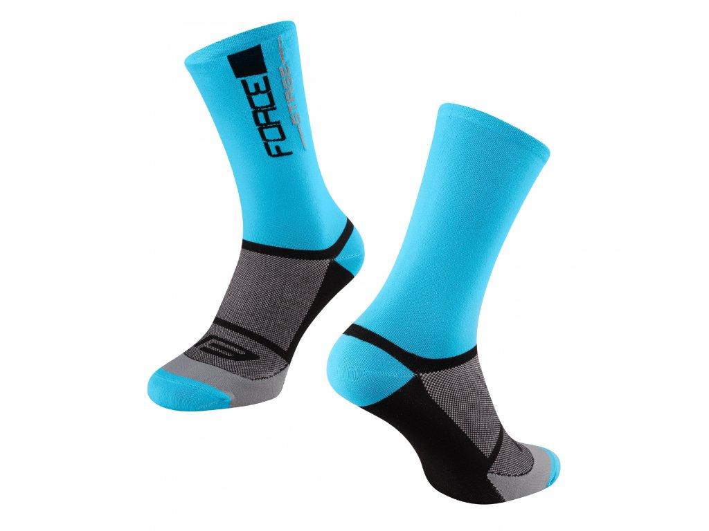 ponožky FORCE STAGE, modro černé