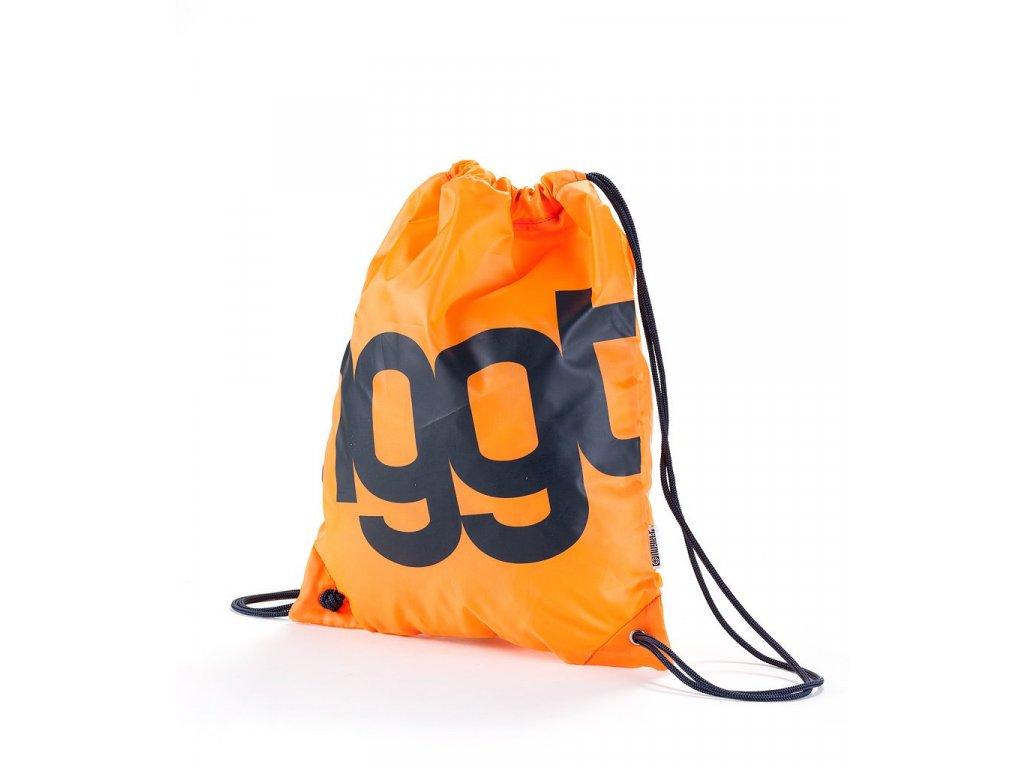 Nugget NGGT Benched Bag B-Neon Orange (Barva oranžová, Objem 12 L)