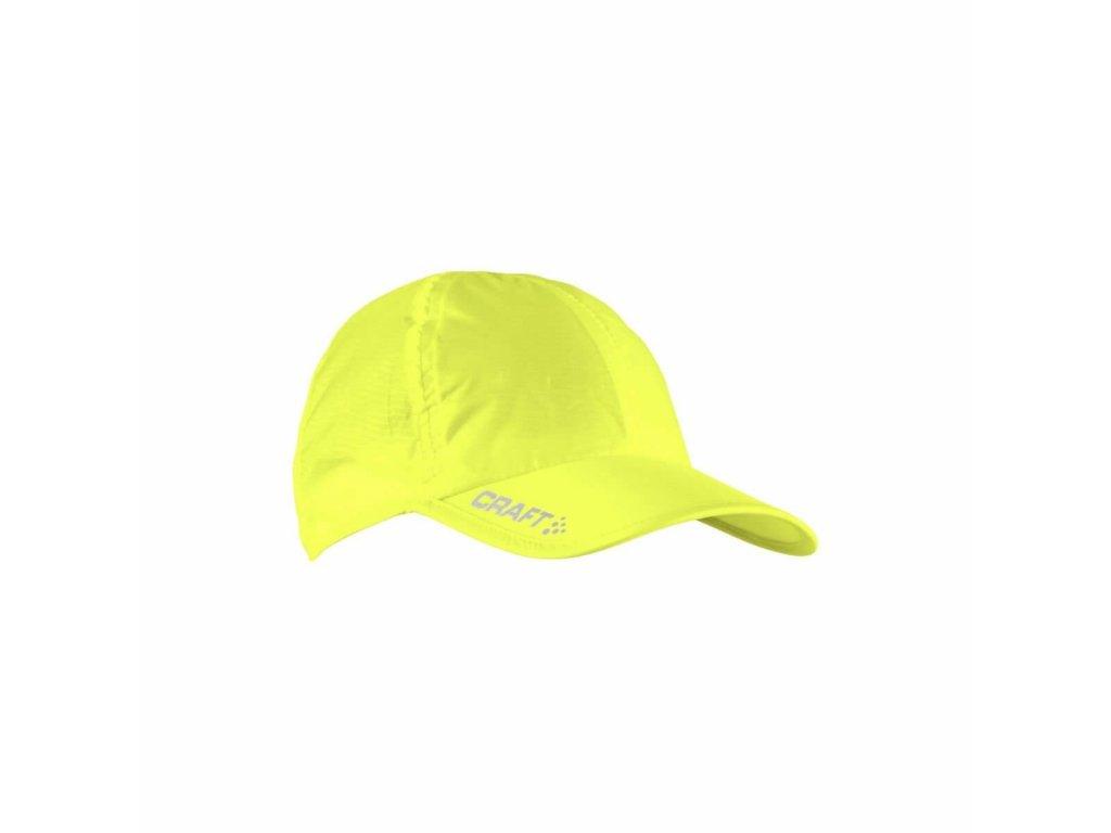 Kšiltovka CRAFT UV žlutá