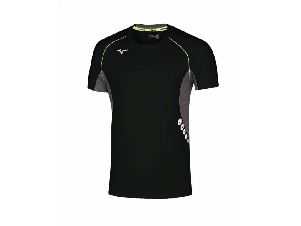 Pánské tričko Mizuno Premium JPN Tee Black Black