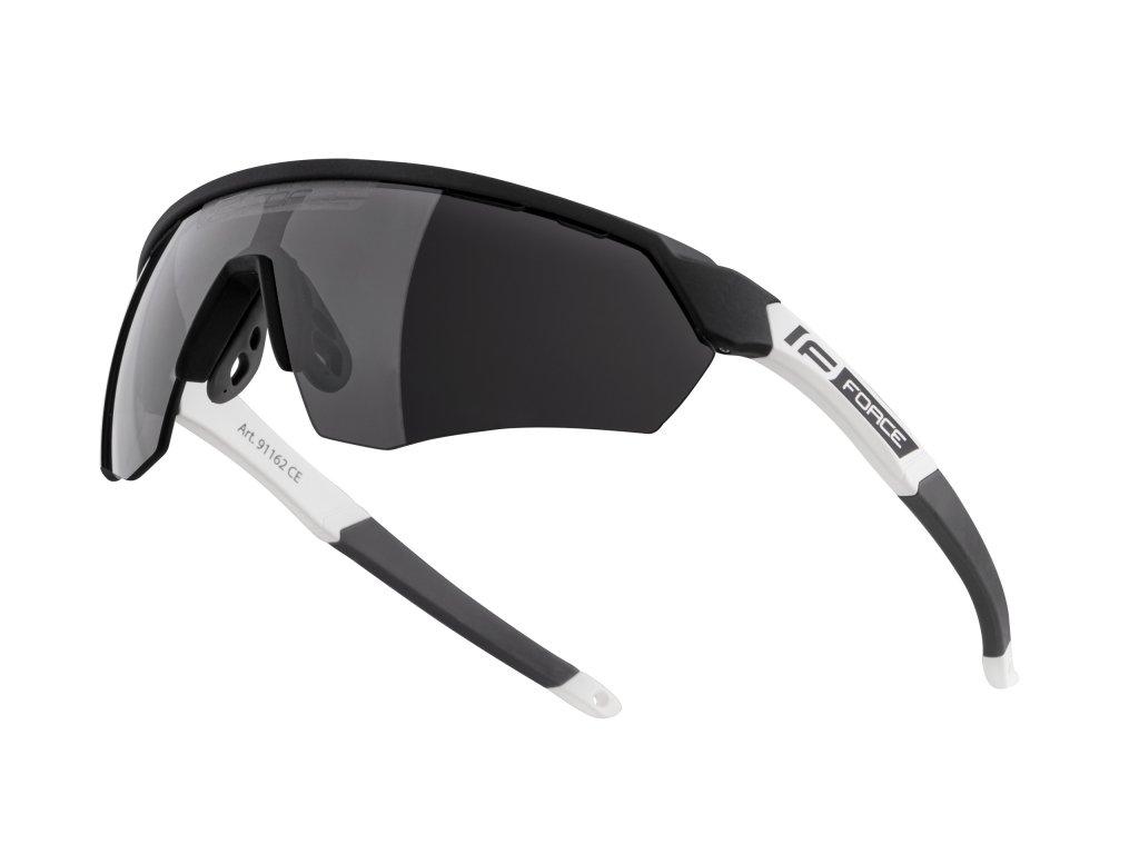 brýle FORCE ENIGMA černo bílé mat., černá skla