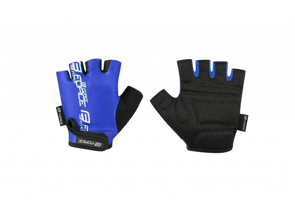 rukavice FORCE KID dětské, modré M