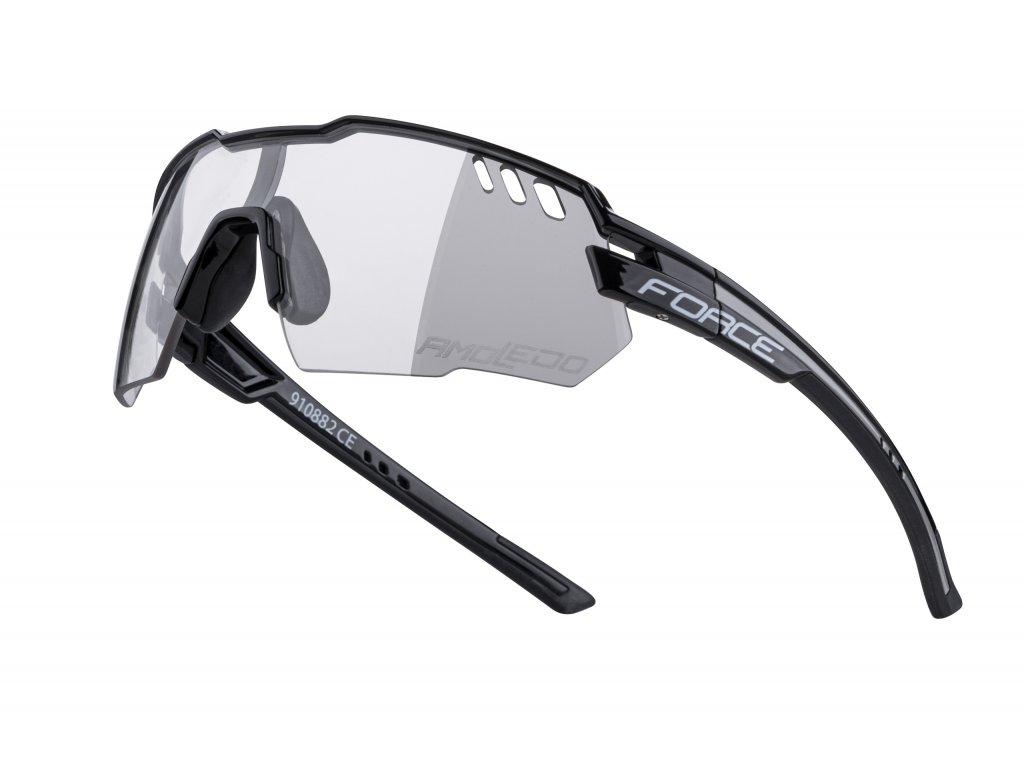 brýle F AMOLEDO, černo šedé, fotochromatické skla