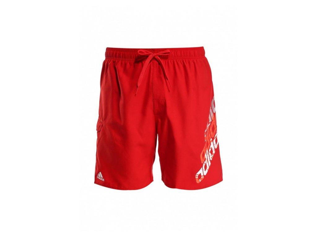 plavky adidas red