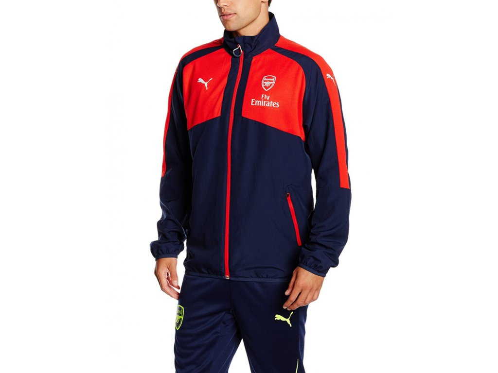 Puma Arsenal AFC Casuals Woven Navy Red