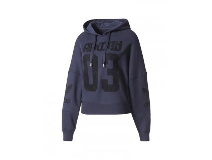 Adidas Originals Fleece Hoodie Leg Ink