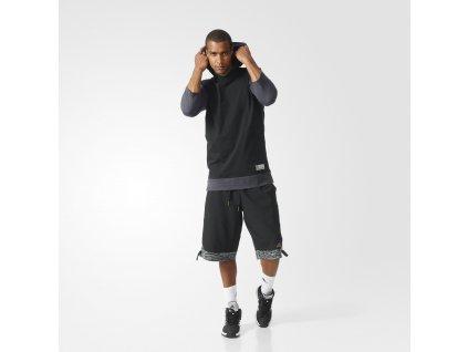 Adidas Basketball 3 4 League Hoodie1