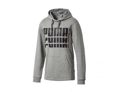Puma Rebel Bold Hoody FL Medium Gray Heather
