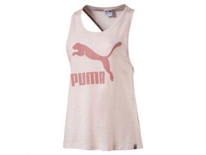 Puma Classics Logo Tank PEarl