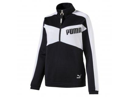 Puma Archive T7 Halfzip Crew Black