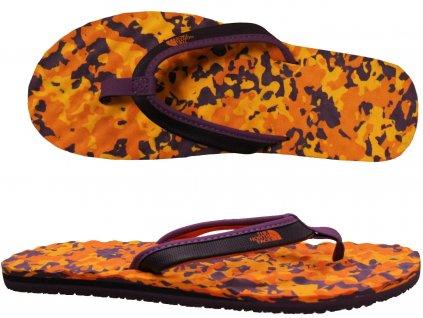 The North Face W Base Camp Mini Orange Purple Black