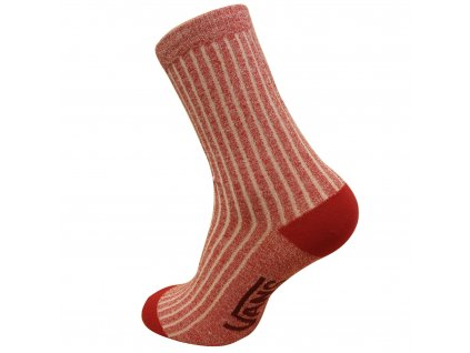 Vans Off The Wall Red Socks