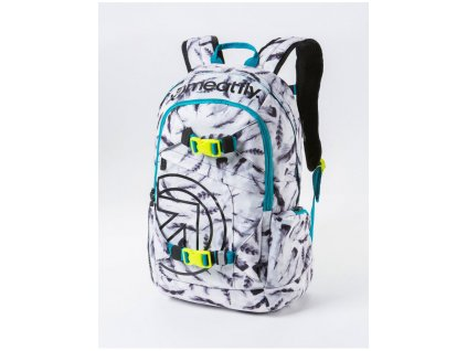 MEATFLY BASEJUMPER 3 20L N FEATHER WHITE PRINT