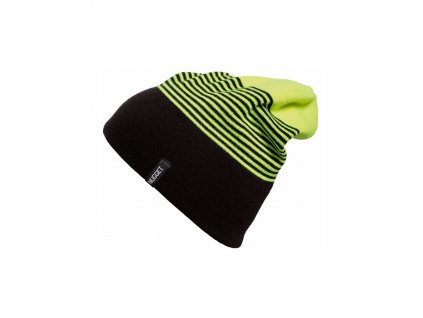 NUGGET TOKEN 2 BEANIE 17 C SAFETY YELLOWBLACK