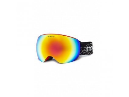MEATFLY EKKO XL GOGGLES A RED
