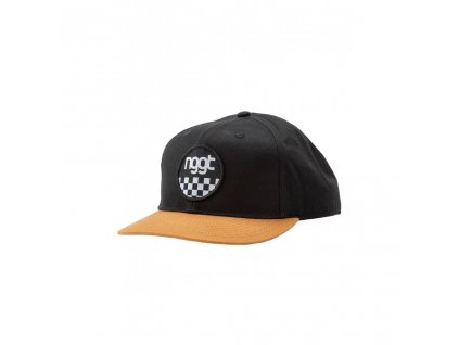 Kšiltovka Nugget Hawke Snapback C Brown, Black