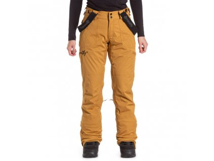 Snowboardové kalhoty Meatfly Foxy I Wood Stripe