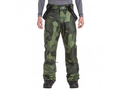 Snowboardové kalhoty Meatfly Ghost 4 F Shade Mono Olive