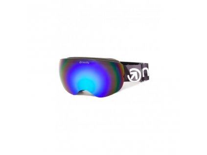 Snowboardové brýle Meatfly Ekko XL 2 B Black