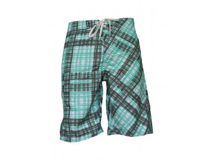 MEATFLY Swimshorts W Green/Brown A (Velikost L)