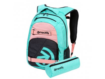 Meatfly Exile 5 G Heather Mint, Pink