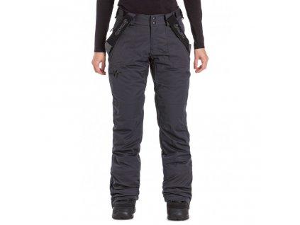 Snowboardové kalhoty Meatfly Foxy H Ebony Stripe