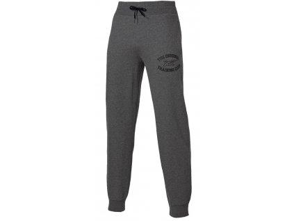 Asics Graphic Brushed Cuffed Pant Dark Heather Grey