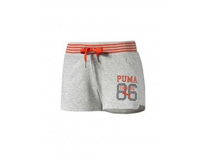 Puma Style Athl Shorts Light Gray Heather