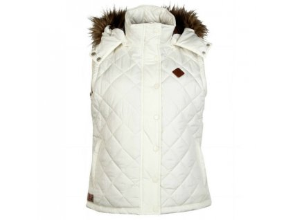 England Rugby Hooded Gilet White