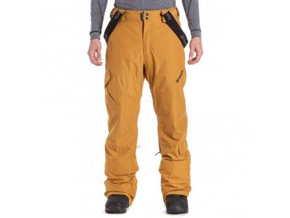 Snowboardové kalhoty Meatfly Ghost 4 G Mustard