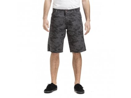 MEATFLY BOBBER 19 SHORTS G GREY BINARY CAMO