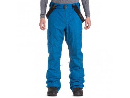 Snowboardové kalhoty Meatfly Ghost 4 E Blue Melange